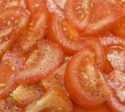 Sliced tomatos Royalty Free Stock Photo