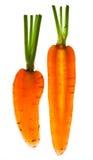 Sliced Vegetables on white Stock Photo