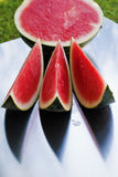 Sliced watermellon Stock Image