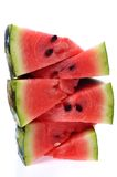 Sliced watermelon close up Royalty Free Stock Photo