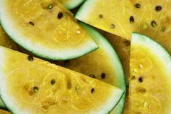 Sliced Watermelon Lot Royalty Free Stock Photography