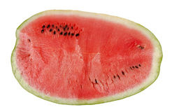 Sliced watermelon texture Stock Images