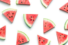 Sliced watermelon Royalty Free Stock Photos