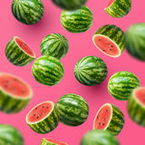 Sliced Watermelons Royalty Free Stock Photo