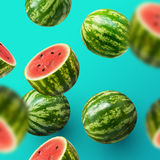 Sliced Watermelons Royalty Free Stock Photos