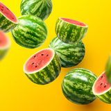 Sliced Watermelons Royalty Free Stock Images