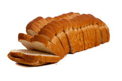 Sliced wheat Bread Stock Photo