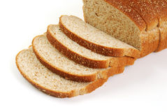 Sliced Wheat Bread Stock Photography