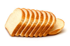 Sliced Wheat Bread Royalty Free Stock Photos