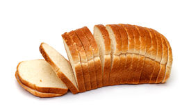 Sliced Wheat Bread Royalty Free Stock Image