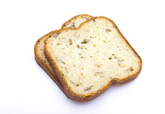Sliced white bread Royalty Free Stock Images