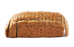 Sliced white bread loaf  Stock Photography