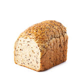 Sliced white bread loaf  Royalty Free Stock Photos