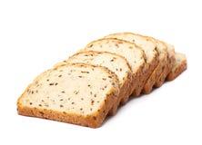 Sliced white bread loaf  Stock Image