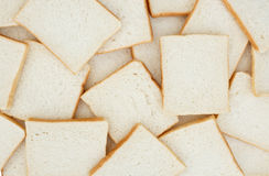 Sliced white bread. Texture,pattern,background Royalty Free Stock Photo