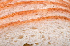 Sliced white wheat bread Royalty Free Stock Images