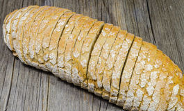Sliced whole bread  Royalty Free Stock Image