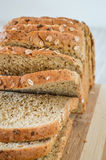 Sliced whole grain bread Stock Images