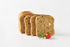Sliced whole grain bread Royalty Free Stock Image