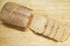 Sliced whole grain bread Royalty Free Stock Photography