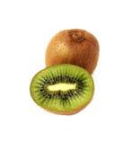 Sliced and whole kiwi Royalty Free Stock Photo