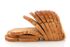 Sliced whole meal bread Royalty Free Stock Photography