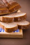 Sliced whole wheat bread Royalty Free Stock Photography