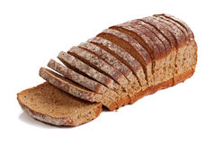 Sliced wholemeal bread Stock Image