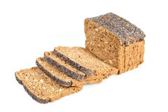 Sliced wholemeal bread Royalty Free Stock Image