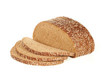 Sliced wholemeal bread Stock Photo