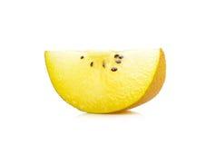 Sliced Yellow gold kiwi fruit  Royalty Free Stock Photo