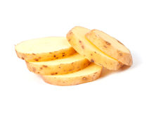 Free Sliced Yellow Potatoes Stock Photo - 19765100