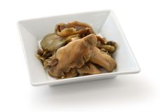 Sliced zha cai Royalty Free Stock Images