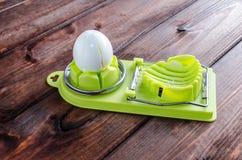 Slicer вареного яйца Стоковое Изображение