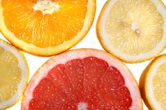 Slices Royalty Free Stock Photography