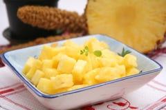Slices of ananas Stock Photo