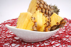 Slices of ananas Royalty Free Stock Photo