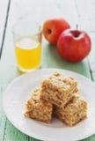 Slices of apple pie Stock Photography