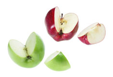 Slices of Apples Royalty Free Stock Image