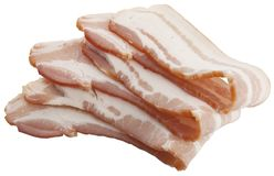 Slices of bacon Stock Photography