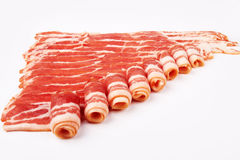 Slices of bacon Stock Photo