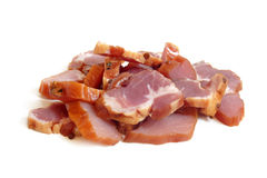 Slices of bacon Royalty Free Stock Image