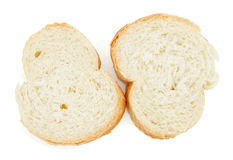 Slices of baguette Royalty Free Stock Images