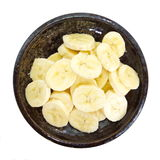 Slices banana Royalty Free Stock Photography