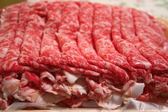 Slices Of Beef Stock Image