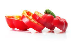 Slices of Bell Pepper Stock Photos