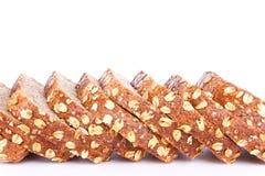 Slices of bran bread Stock Photo