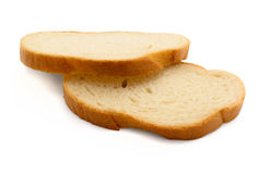 Slices of bread Stock Photos