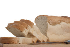 Slices of bread Royalty Free Stock Photos
