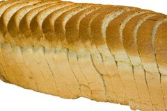 Slices of bread Royalty Free Stock Photo